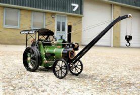 Allchin Maroon crane engine